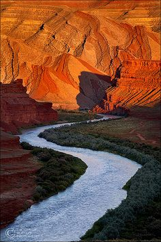 San Juan River Valley, Utah. Took a four day rafting trip on this magnificent river.