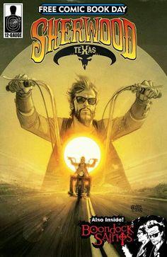 Free Comic Book Day 2014 - Sherwood Texas/ Boondock Saints (12- Gauge, 2014) FCBD Edition