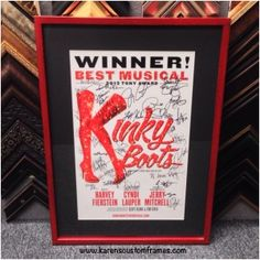 Custom framed Kinky