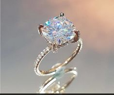 Stunning feminine and breathtaking! This Unique moissanite engagement ring set is crafted in solid rose gold with a carat forever one moissanite set into a gorgeous floral basket setting on top of a diamond pebble band. The timeless design of thi Beautiful Engagement Rings, Solitaire Engagement, Wedding Engagement, Wedding Bride, Dream Wedding, Wedding Dresses, Intricate Engagement Ring, Popular Engagement Rings, Engagement Ring Settings