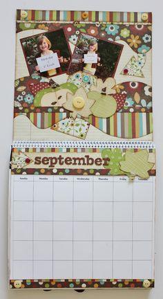 The full view of the September Calendar.
