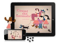 aplicacion niños ipad 500x371 Aplicaciones infantiles... Cuenta los Animales!