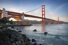 """La """"Puerta Dorada"""" de California: el Golden Gate"""