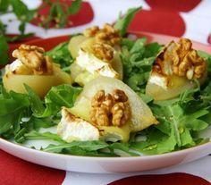 Sałata z gruszkami i serem - Przepisy. Sałata z gruszkami i serem to przepis, którego autorem jest: Magda Gessler