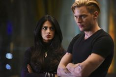 """Shadowhunters - Episode - Rise Up - Promotional Photos + Synopsis - Part 1 of 2 """"With the Institute on high alert, Jace, Clary and Isabelle are forced into taking drastic actions. Shadowhunters Screencaps, Shadowhunters Cast, Jace Lightwood, Isabelle Lightwood, Shadow Hunters Tv Show, Dominic Sherwood, Mexican Actress, Matthew Daddario, Katherine Mcnamara"""
