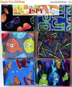 "Spring Sale- Puffer Fish, I Spy 6pc Fat Quarter Bundle - Cotton Benartex fabric 18""x 21""Fast Shipping FQ886"