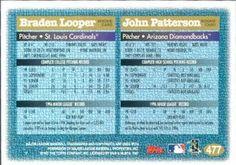 1997 Topps #477 Braden Looper / John Patterson Back