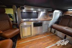 VW Transporter T5 T6 Camper Conversion - LWB Infinity Interior Campervan Conversions Layout, Camper Van Conversion Diy, Vw Transporter Camper, Vw Camper, Custom Van Interior, Camper Kitchen, Custom Vans, T5, Kitchen Layout