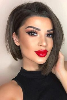 25 Fabulous Asymmetrical Haircut Ideas To Freshen Up Your Style - - 25 Fabulous Asymmetrical Haircut Ideas To Freshen Up Your Style Hair Cuts Side Parted Asymmetrical Bob Haircut ❤ Wavy Bob Hairstyles, Lob Hairstyle, Short Hairstyles For Women, Trendy Hairstyles, Curly Haircuts, Hairstyle Ideas, Popular Hairstyles, Hairstyles Haircuts, Stacked Hairstyles