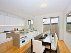 Townhomes on pinterest townhouse london townhouse and for Small townhouse kitchen designs