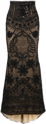 ShopStyle: Emilio Pucci Sequined tulle maxi skirt