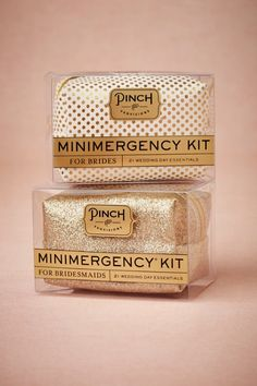 Minimergency® Kit for Brides & Bridesmaids in Décor Gifts Gifts Under $50 at BHLDN