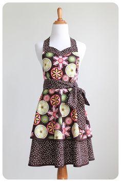 Luscious Layers Apron - PDF Pattern - Modern Vintage Designs: Whimsical Designs Fabric Shop
