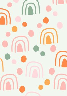Charlotte Dreams Art Illustrations Cute Backgrounds, Cute Wallpapers, Wallpaper Backgrounds, Girl Wallpaper, Phone Wallpapers, Textures Patterns, Color Patterns, Print Patterns, Artsy Background