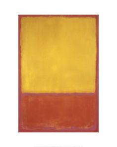 Mark Rothko - Ochre and Red on Red, 1954 - Art Prints from the Phillips collection