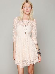 3ddf9dfaea Free People Floral Mesh Lace Dress at Free People Clothing Boutique  Nashville