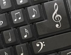 Musical Notes Keypad