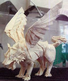 Griffin (Marchosias 2006) by o'sorigami, via Flickr