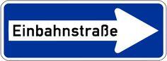 Verkehrszeichen in Deutschland: was muss man machen?  Was darf man nicht machen?