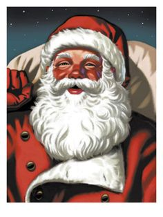 Santa Claus Print at Art.com