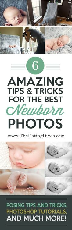 Essential tips for newborn photography! These are such helpful tricks for taking those gorgeous newborn photos! http://www.TheDatingDivas.com