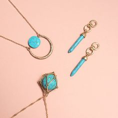 Stay chic in the heat with cool turquoise tones. Shop our favorites at www.delilahk.com