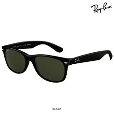 Ray-Ban Unisex Wayfarer 55mm Sunglasses with Case - Assorted Colors at 35% Savings off Retail!