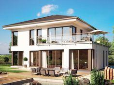 Evolution 154 - Bien Zenker - Prefabricated house - Home - Garden Future House, My House, Prefabricated Houses, House Goals, Modern House Design, Home Fashion, My Dream Home, Exterior Design, Building A House
