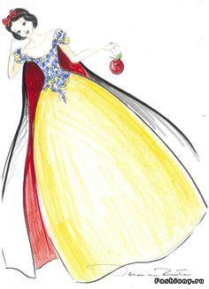 Para estas navidades los prestigiosos almacenes Harrods de Londres han  pedido a diez importantes diseñadores que vistan a las princesas Disney. de8c43f7bef8