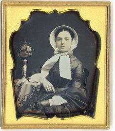 bonnet - late 1840s to early 50s