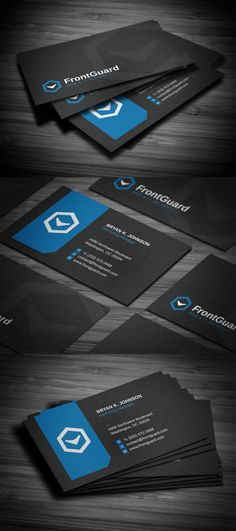 Creative business card template PSD from GraphicRiver