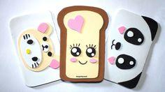 Cómo hacer FUNDAS para MÓVIL con Goma Eva (foamy) - KAWAII Kawaii Phone Case, Diy Phone Case, Iphone Cases, Easy Diy Crafts, Handmade Crafts, Crafts To Make, Mobiles, Felt Crafts, Paper Crafts
