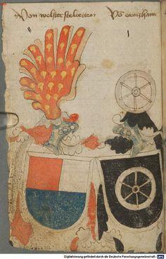 Ortenburger Wappenbuch Bayern, 1466 - 1473 Cod.icon. 308 u  Folio 35v