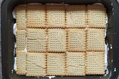 Nepečený jahodový zákusok s mascarpone - recept postup 4 Cheesecake, Food And Drink, Bread, Cakes, Mascarpone, Cake Makers, Cheesecakes, Brot, Kuchen