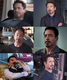"3,511 Likes, 31 Comments - Marvel (@avngers) on Instagram: "" tag yourself . Tony Stark: a mood (half of these are from the Avengers ) ib_ @brokenstark…"""