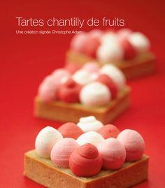 whipped cream fruit tart / tartes chantilly de fruits