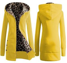Zantt Womens Oblique Zipper Basic Long Sleeve Cowl Neck Sweatshirt Jacket