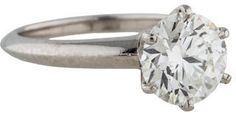 Tiffany & Co. Platinum Round Diamond Engagement Ring