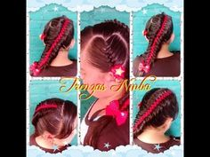 corazon y trenza escalera - YouTube
