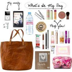 Various Features of Cute School Bags – Bags & Purses School Bag Essentials, Travel Bag Essentials, Handbags For School, School Bags, Purse Necessities, School Emergency Kit, What's In My Backpack, Types Of Handbags, Small Handbags