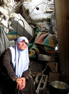 A Beautiful Gaza Woman