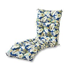 Greendale Home Fashions Indoor/Outdoor Chaise Lounger Cushion, 72-Inch, Marlow, http://www.amazon.com/dp/B00HD4UQ32/ref=cm_sw_r_pi_awdm_x_AYR6xbQNRH45R