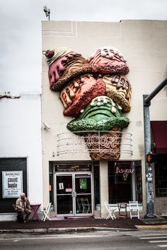 Ice Cream Shop, Miami, Florida