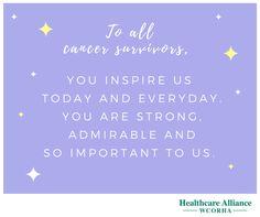 Cancer Survivors Day 2017 #cancersurvivors