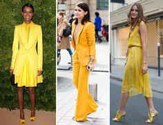 Estilo Meu - Consultoria de Imagem. Produções monocromáticas em amarelo super estilosas .  All yellow