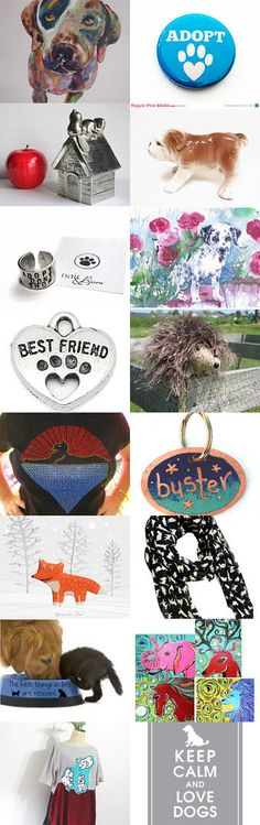 Adopt a new best friend... by Kay on Etsy--Pinned with TreasuryPin.com