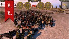 Attila Total War - 2vs2 Visigoth civil war