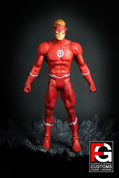 DCUC Flash Rebirth Wally West (DC Universe) Custom Action Figure