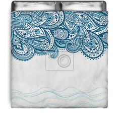Abstract Paisley Comforter at http://www.visionbedding.com/abstract-paisley-background-queen-full-comforter-p-3093410.html