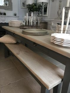 Bespoke table and benches::Of Special Interest